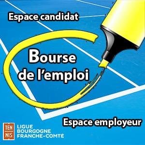 Bourse de l'emploi de la Portail des Compétitions de la Contactez la Ligue Bourgogne-Franche-Comté de Tennis