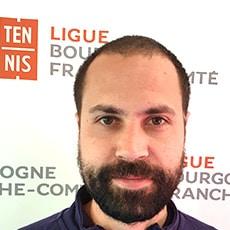 Jérémie Matthieu : Ligue Bourgogne-Franche-Comté de Tennis
