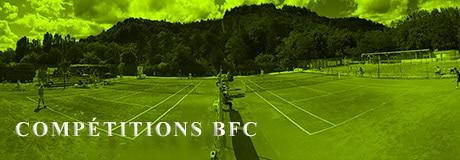 Portail des Compétitions : Ligue Bourgogne-Franche-Comte de Tennis