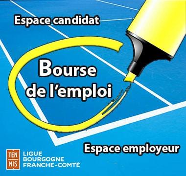Bourse Emploi : Ligue Bourgogne-Franche-Comté de Tennis