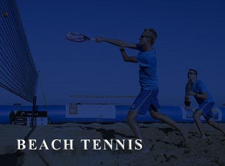 La Ligue Bourgogne-Franche-Comte de Tennis s'est aussi le Beach Tennis