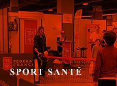 La Ligue Bourgogne-Franche-Comte de Tennis s'est aussi le Sport Sante