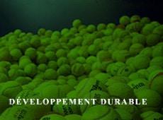 La Ligue Bourgogne-Franche-Comte de Tennis s'est aussi le développement durable