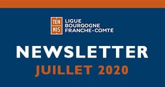 Newsletter Juillet 2020 : Ligue Bourgogne-Franche-Comté de Tennis