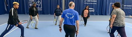Commission Sport Sante Bien Etre de la Ligue de Bourgogne-Franche-Comté de Tennis