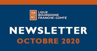 Newsletter Octobre 2020 : Ligue Bourgogne-Franche-Comté de Tennis