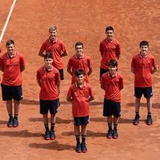 Ramasseurs de balles Roland Garros 2021 : Ligue BFC de Tennis